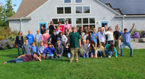 The Falmouth Academy Class of 2025. <i>Attribution: Falmouth Academy Faculty</i>