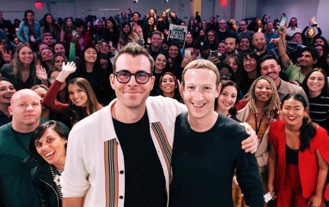 Adam Mosseri and Mark Zuckerberg, old friends, at Instagram HQ