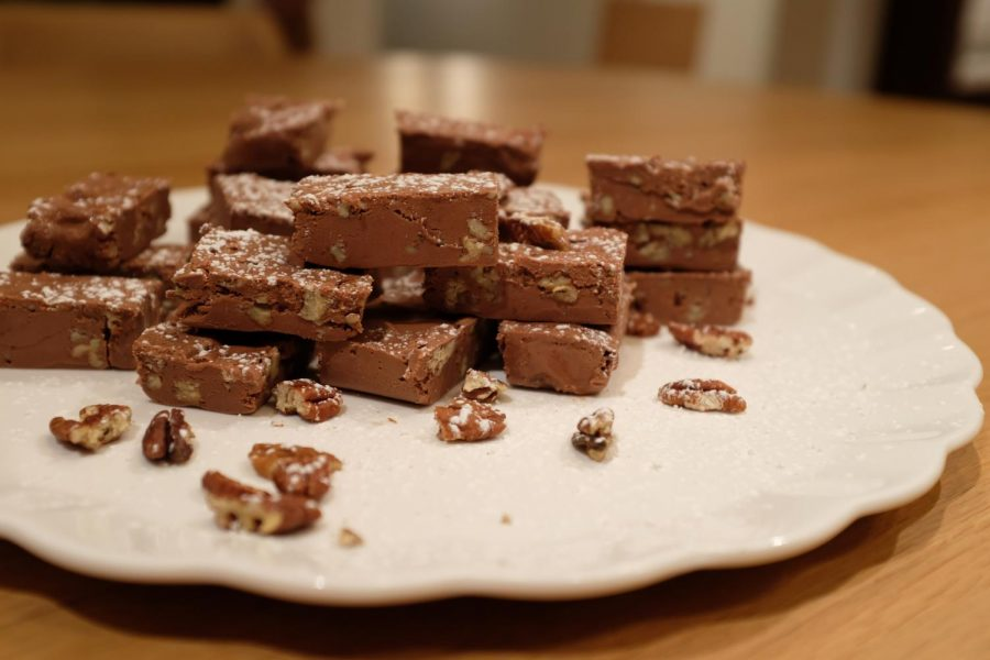 A batch of Holiday Fudge I prepared on the 7th.