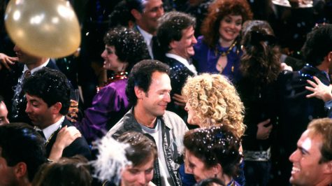 Harry Burns (Billy Crystal) and Sally Albright (Meg Ryan) at the end of When Harry Met Sally. Courtesy Castle Rock Entertainment.